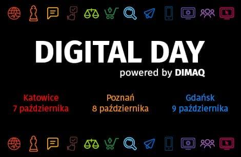 Jak skutecznie promować firmę w świecie online? Weź udział w DIGITAL DAY powered by DIMAQ!