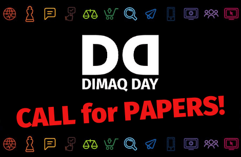 CALL FOR PAPERS na DIMAQ DAY 2020!