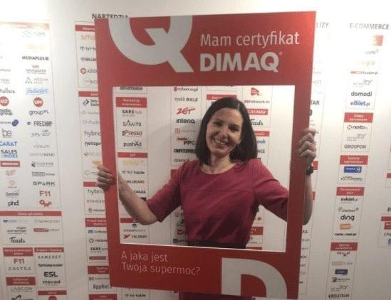 Jak rozpoczęła się moja przygoda z digital marketingiem i certyfikatem DIMAQ. Artykuł Justyny Wasinkiewicz.