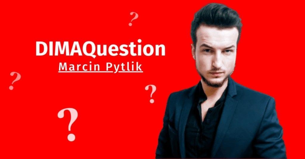 """Czy """"świeżak"""" w branży digital ma szansę na certyfikat? Marcin Pytlik odpowiada na DIMAQuestion."""