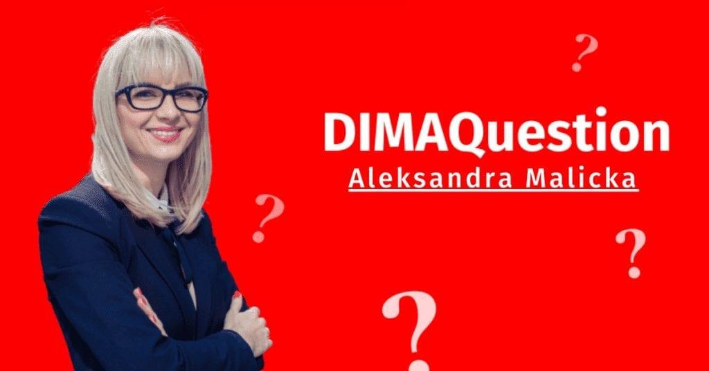 DIMAQuestion: Jak przygotować się do egzaminu? Aleksandra Malicka, Digital & Brand Manager w Stellantis.