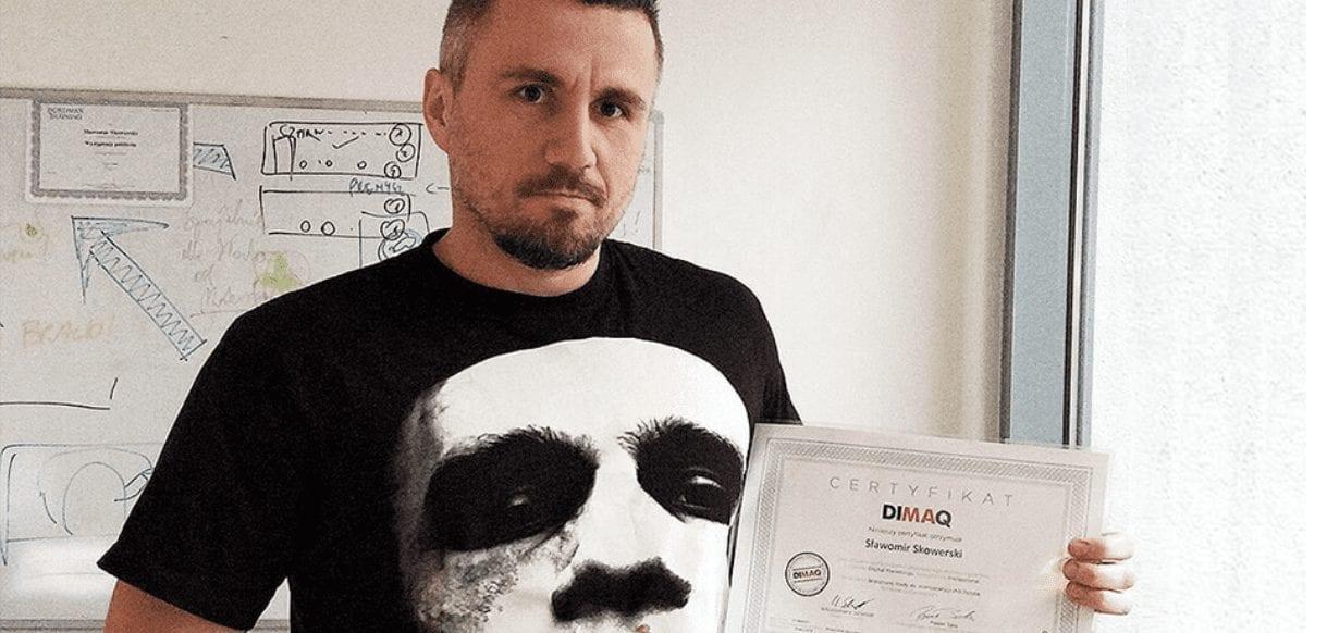 Sławek Skowerski: Zdałem egzamin DIMAQ i to za pierwszym razem!